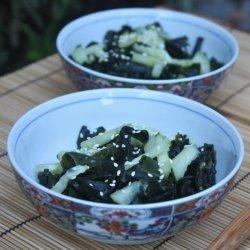 Mika's Vegan Seaweed and Cucumber Salad recipe