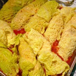 Cabbage on Tomato Sauce