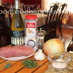 Roast Pork With Garlic and Rosemary