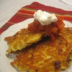 Mexican Potato Pancakes