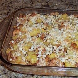 Hawaiian Sweet Potato Casserole