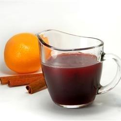 Easy Orange Cranberry Glaze
