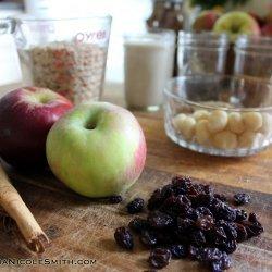Apple Raisin Sauce
