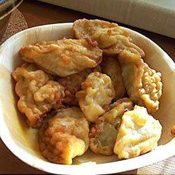 Pisang Goreng (Indonesian Banana Fritters) recipe