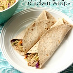 Sesame and Ginger Chicken Wraps