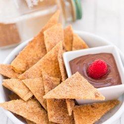 Baked Mangoes With Cinnamon-Sugar Tortillas