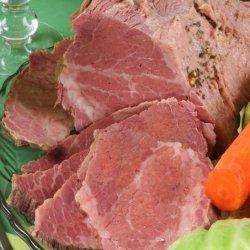Irish Corned Beef With Cabbage