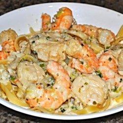 Fettuccine Ala Seafood
