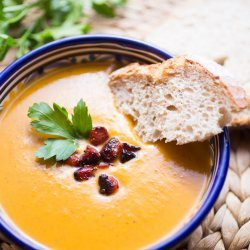 Sweet Potato & Chorizo Soup