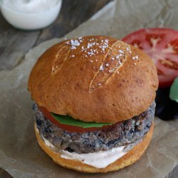 Gluten Free Bean and Veggie Burger
