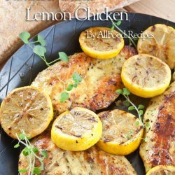 Lemon Chicken With Roasted Garlic