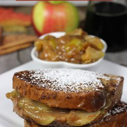 Stuffed Apple French Toast