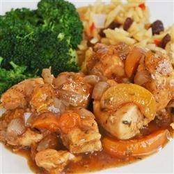 Chicken With Balsamic Vinegar