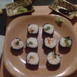 Sushi..easy Homemade Style recipe