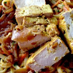Thai Style Spicy Noodle With Tofu