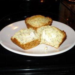 Lemon Poppy Seed Surprise Snack Muffins