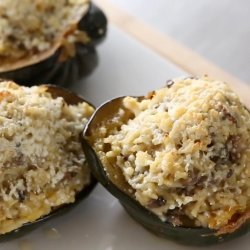 Rice Stuffed Mushrooms