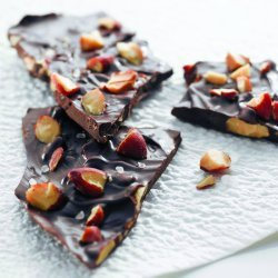 Sea-Salted Smoky Almond Chocolate Bark