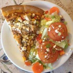 Feta and Chicken Pizza