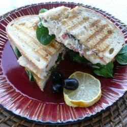 The Spanish Ranch Panini ! #RSC recipe