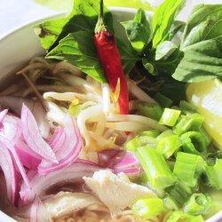 Pho Ga (Vietnamese Chicken Noodle Soup)