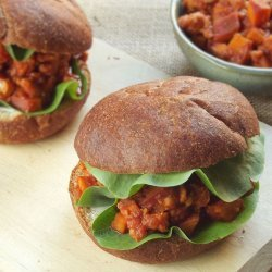 Barbecue Tempeh Sandwiches