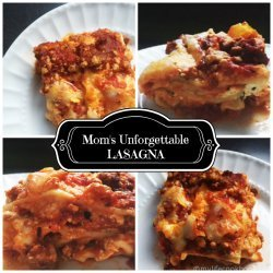 Mom's Lasagna