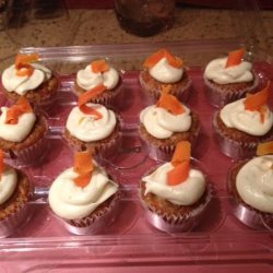 Carrot Cupcakes With Cardamom Frosting