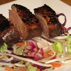 Japanese-Style Marinated Duck Breast