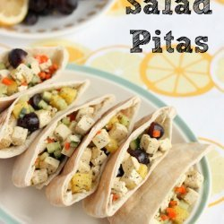 Tofu Salad in Pitas