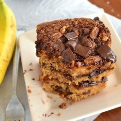 Banana Chocolate Chip Coffee Cake