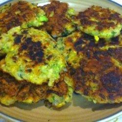 Zucchini and Yellow Squash Fritters