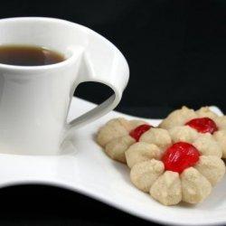 Sour Cream Spritz Cookies