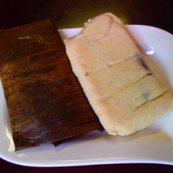 Pork Tamales in Banana Leaves (Tamales Con Puerco)