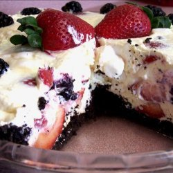 Berry Good Creamy Cheese Pie