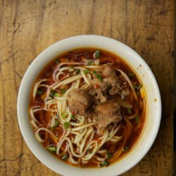 Yu Xiang Pai Gu Mian (Sichuan Noodle Pork Shoulder Soup)