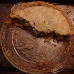 Wild Rice Turkey Pot Pie recipe