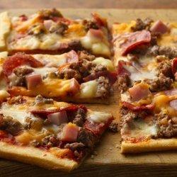 Mega-Meat Pizza