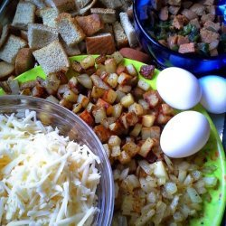 Potato and Sausage Casserole