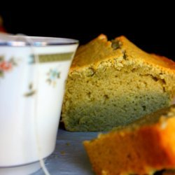 Green Tea and Coconut Cake