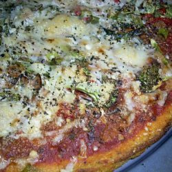 Chef Joey's Polenta Crust Pizza recipe