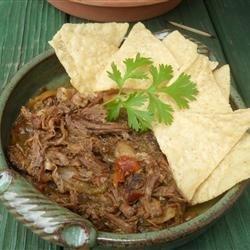 Slow Cooker Machaca