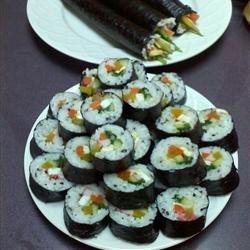 Kimbop (Korean Sushi) recipe