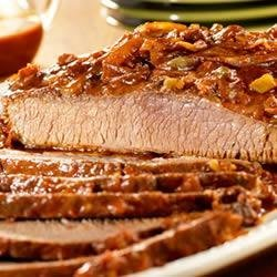 Slow-Cooked Carolina Beef Brisket recipe