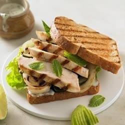 Grilled Chicken Mojito Sandwich