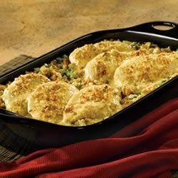Broccoli Cheese Chicken and Stuffing recipe