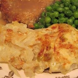 Scalloped Potato-Onion Bake recipe