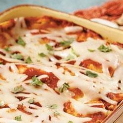 Layered Vegetable Enchilada Casserole
