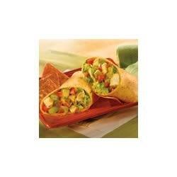 Salsa Verde Chicken Wraps