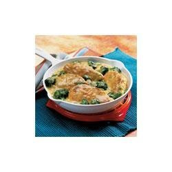 Campbell's(R) Skillet Chicken and Broccoli recipe
